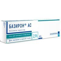 Базирон АС, гель д/наружн. прим. 5% 40 г №1